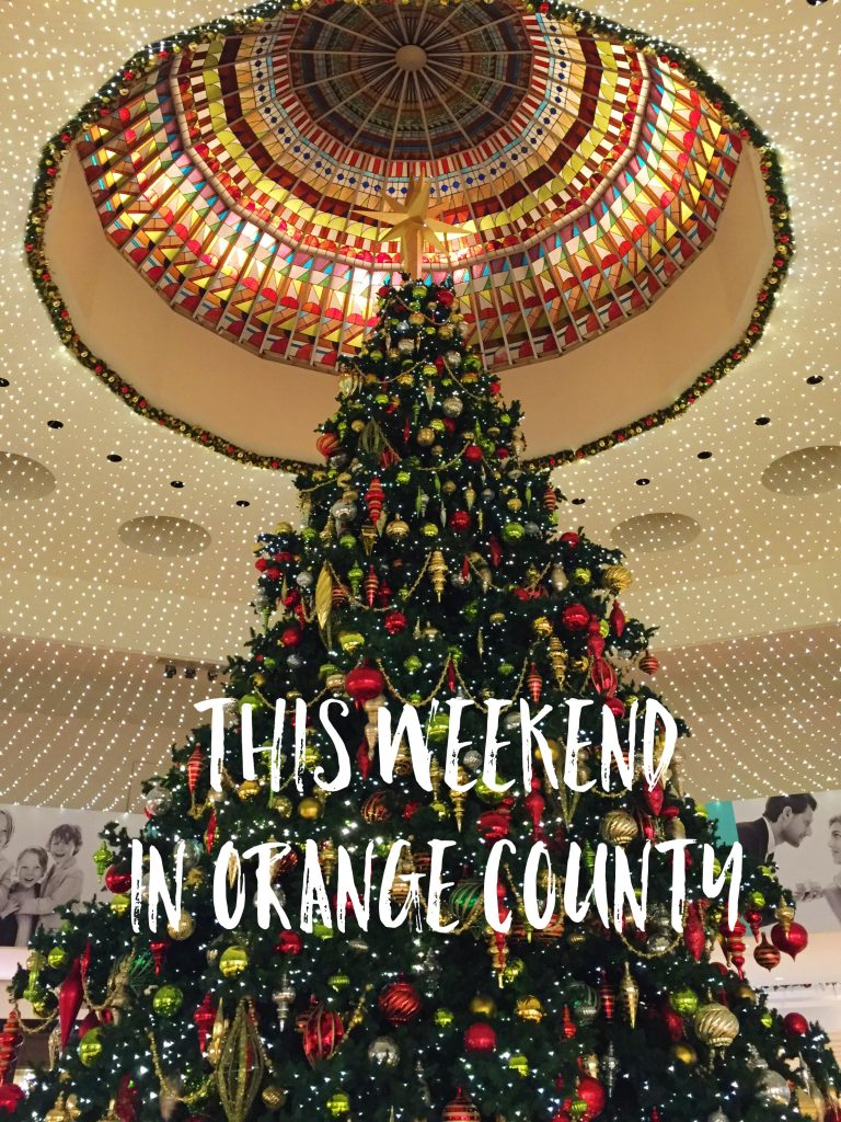 This Weekend in Orange County